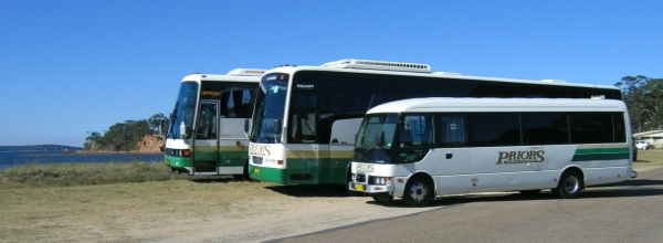 Priors charter buses
